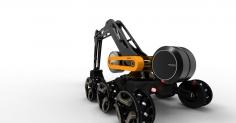 concept excavator SAB9107