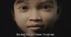 아동 성매매 범죄자를 잡는 필리핀소녀. Sweetie