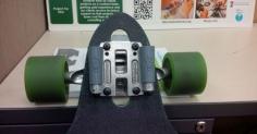 3D 프린터로 스케이트보드에 헤드라이트를 달다.