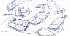핸드폰 스케치