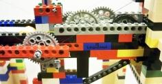 레고로 만들어진 3D 프린터