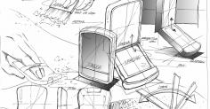 화장품 팩트 스케치