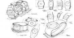 손목시계 스케치