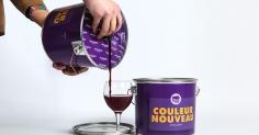 Wine Packaged in Paint Bucket
