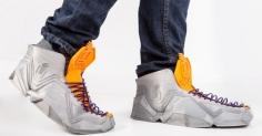 접히는 유연한 신발