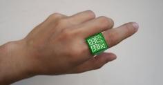 대중교통 카드를 대체할 3D 프린팅 반지