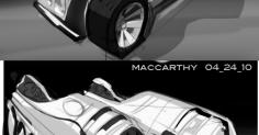 미국디자이너 Joe MacCarthy 자동차스케치-1