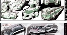미국디자이너 Joe MacCarthy 자동차스케치-2