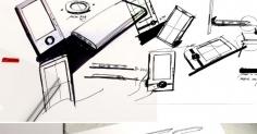 중국디자이너 Joy Yang 제품스케치