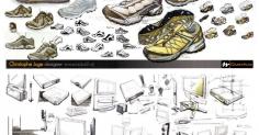 프랑스디자이너 Christophe Juge 제품스케치