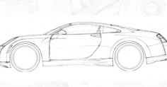 car 스케치