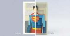 3D예술과 2D와의 콜라보레이션