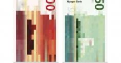 노르웨이의 감각적인 새 지폐 디자인