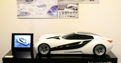 'CITROEN' - Livreath ' flexible solar vehicle '