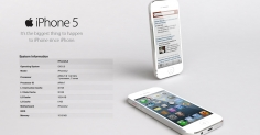 아이폰5 모델링및 렌더링