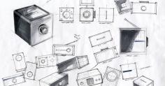 Portable Radio Idea Sketch