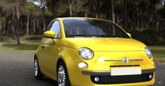 Fiat 500  랜더링