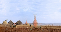 architecture and vision collects potable water with warka tower