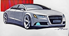 Audi A8 Rendering...