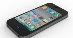 아이폰4 모델링입니다.